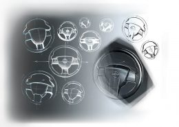 Nissan Altima Streering Wheel Direksiyon Tasarım