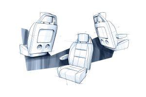 QX 56 FR SEAT Koltuk Tasarım