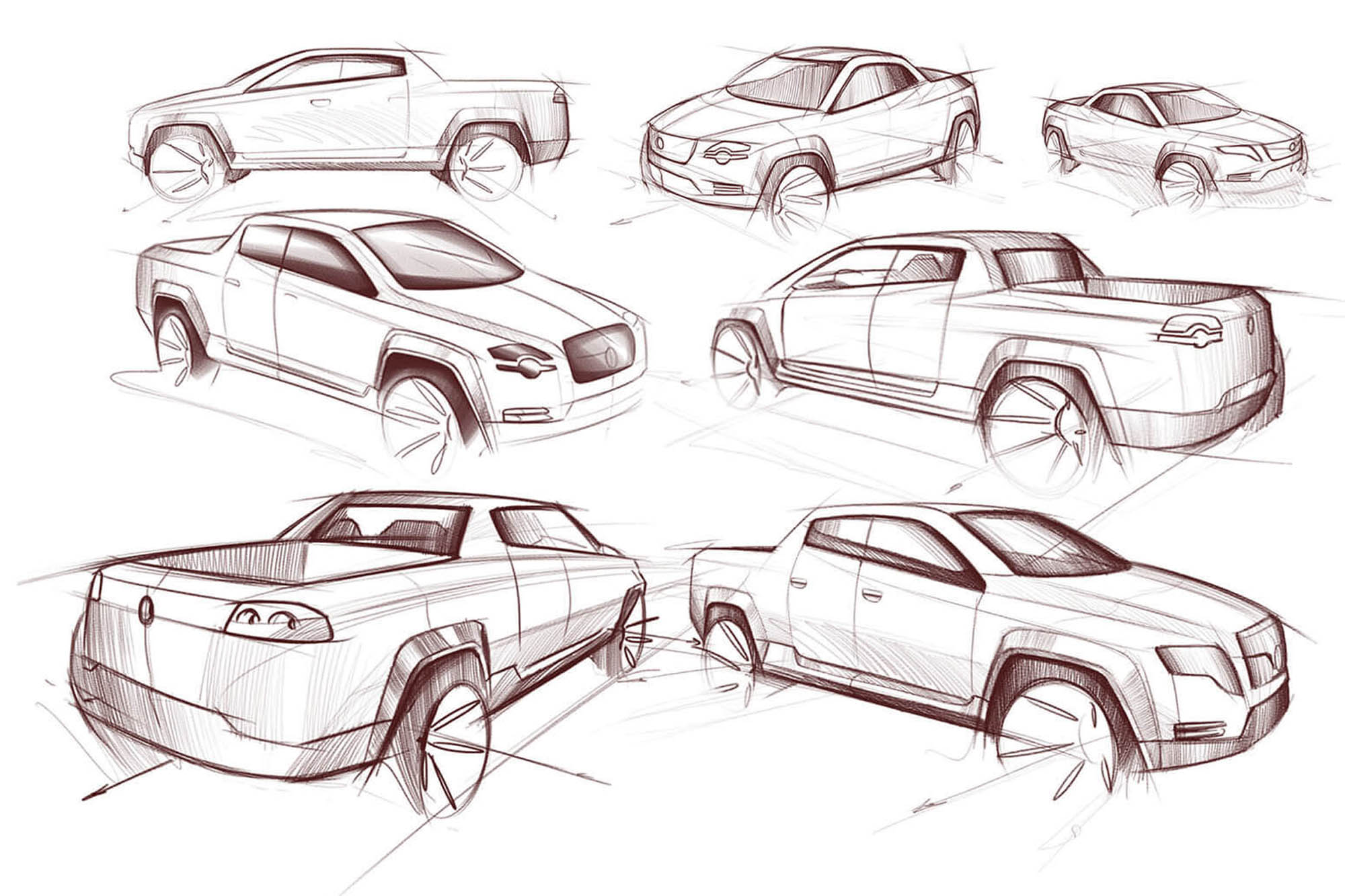 Volkswagen Amarok Concept Otomobil Tasarım
