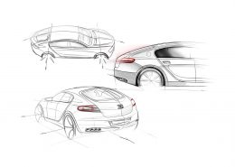 bugatti galibier otomobil tasarım